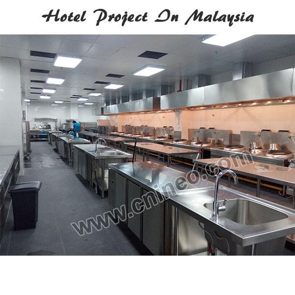 Guangzhou Ineo Professional Restaurant Modern Cooking Equipment Kitchen Design View Kitchen