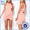 Trade Assurance Yihao 2015 Summer Boat Neck new design Dress ladies fashion formal work decent wholesale Dress