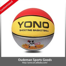 New Training Match PU Basketball Design for Sell Custom YN-805 Wholesale Basketball Brand Manufacturer