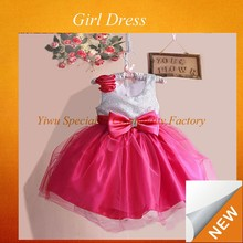 new beauty new model girl party Flower color flower design kids fashion dresses pictures SPXC-271