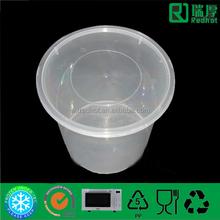500 ml PP envase de alimento de fabricación de China / biodegradable recipientes de plástico