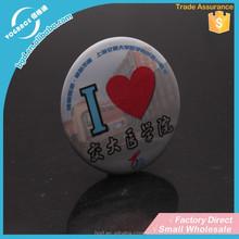 Custom design Children plastic button badge / metal badge for kids