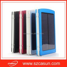 Travel Items Portable Solar Cell Power Bank 10000mAh