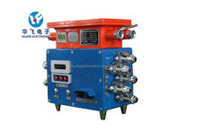 Mining explosion proof and intrinsically safe comprehensive protection device belt conveyor controller
