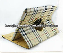 for ipad2/3/4 leather case,new design style with credit card slot