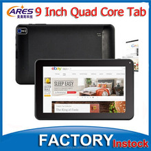 Popular Allwinner Quad Core A33 9 Inch Tablet 512MB 8GB WIFI Bluetooth 4.0 Cheap Android Tablet PC