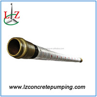 putzmeister concrete pump spare parts 3m 4 layer steel wires schwing dn125 concrete rubber fabric hose