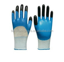13G Polyester Working Nitrile Coated Industrial Glove