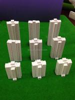 1/500 scale models kits building,3pcs/lot scale model buildings apartment building for architecture