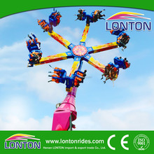 Thrilling outdoor games rides theme park rides Dragon Claw/Wind Fire Wheel for sale