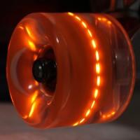 OEM Plastic Fish Shaped Skateboards with LED Wheels
