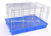 low carbon steel wire plastic Rabbit cage