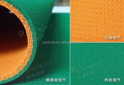 Double Colors Yoga Mat/ Natural Rubber Yoga Mat with Bag