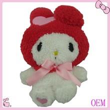 promotional gift cuddly blue rabbit stuffed soft toys
