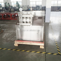 CE certificated milk laboratory high pressure homogenizer machine