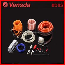 0 gauge flexible audio power amp wiring kit
