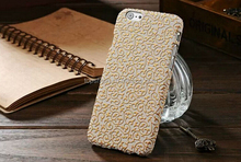 2015 newest mobile accessories for apple iphone 6 new case fashion cover skin back housing