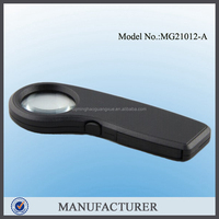 Minghao MG21012-A LED pocket magnifier handhold with UV light for small stuff watching