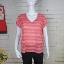 women clothing 100% cotton custom ladies new design t shirt