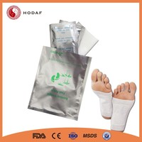 wholesale price effective gold bamboo slimming detox foot patch
