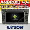 WITSON Android 4.4 car dvd for OPEL ASTRA WITH CHIPSET 1080P 8G ROM WIFI 3G INTERNET DVR SUPPORT