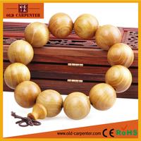 Top quality natural original handmade Gold Sandalwood gold silk cat eyes money drawing wooden buddha bracelets for men