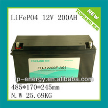 12V 100Ah house lithium rechargeable battery