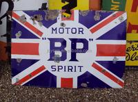 BP MOTOR SPIRIT enamel sign board, decorative board, signpost