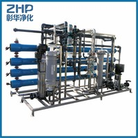 ZHP 1000LPH low price and best quality water softening plant