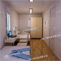 container hotel/container homes china/one bedroom prefab house