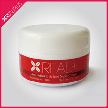 Hot sale REAL PLUS natural herbal extract anti wrinkle cream