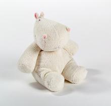 Top Grade Cute Soft Plush Stuffed Sitting Hippo Toy