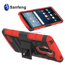 High quality armor case for LG g stylo mobile phone accessories / for LG g stylo rotation belt clip case