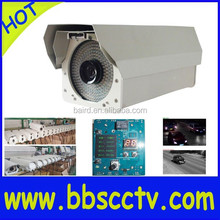 Automatic Number Plate Recognition(ANPR) camera 2.1MP with NVR, hub, TF card holder and HDD, snapshot images