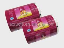 AUOP-003 drink plastic packaging film roll or food package