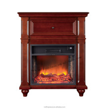flat insert cheap electric fireplac with mantel
