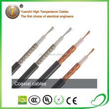 Insulation Material And PTFE Jacket rg59 rg11 rg6 coaxial cable