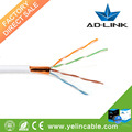 24AWG ftp Cat5e LAN Cable Cable de red Cat5e Cu Cable estándar con CE aprobado made in china