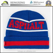 2015 custom 100%acrylic fitted men sports beanie hats