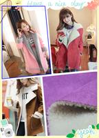 Deerskin suede composite lamb cashmere fabrics