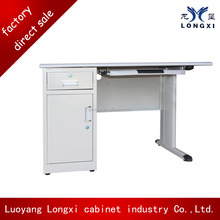 China style office used laptop, professional office file desk ,classic metal computer desk