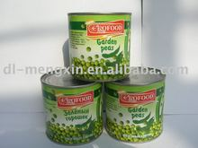 canned green peas from new crop