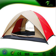 2 Person North Pole Canvas Camping Tent With Bed For Outdoor