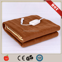 hot sale polyester 220V electric heating blanket with competive price