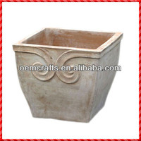 Vintage terracotta custom garden single row corn planter