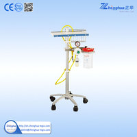 Medical Equipment CE&ISO Approved Hospital Crash Cart Medical Trolley Endoscopy Cart