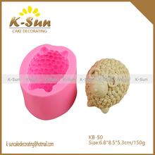 Sheep decoration silicone soap mold