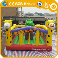 inflatable giraffe bouncy,inflatable jumping bouncer,inflatable jumping animal