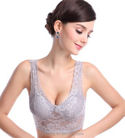 Wholesale Women Sexy Lace Padded Bra Sports Lace Tube Tops