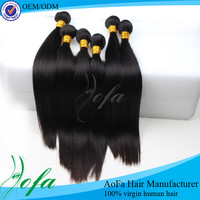 No shedding straight extensions unprocessed virgin brazilan wholesale hair weave distributors
